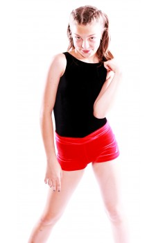 Bloch Leos Velvet Shorts for children
