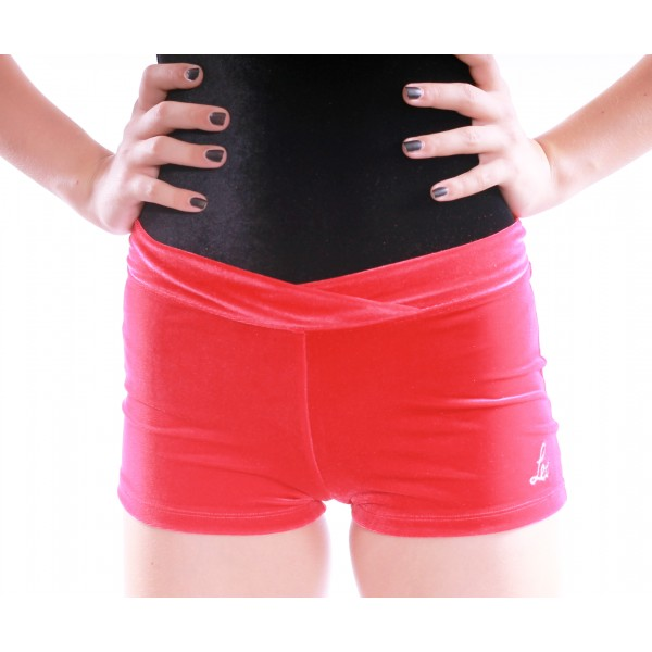 <span style='color: red;'>Out of order</span> Bloch Leos Velvet Shorts for children