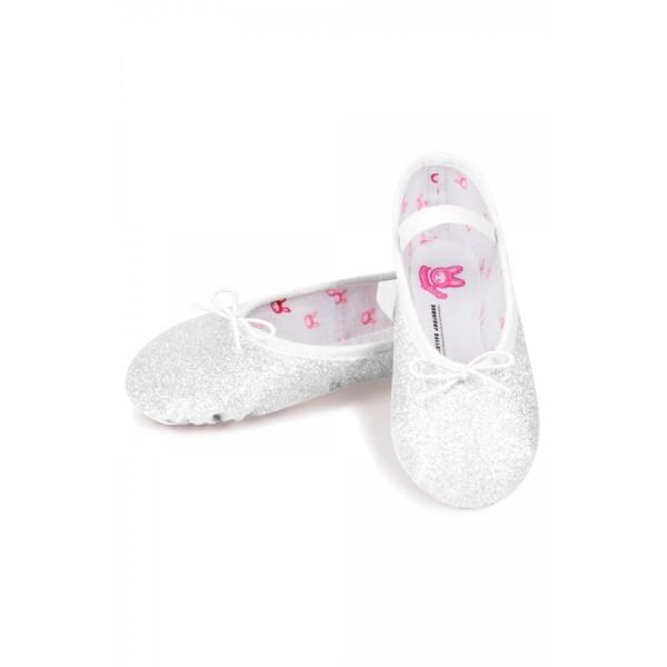 Bloch Sparkle, shimmering ballet slippers for kids