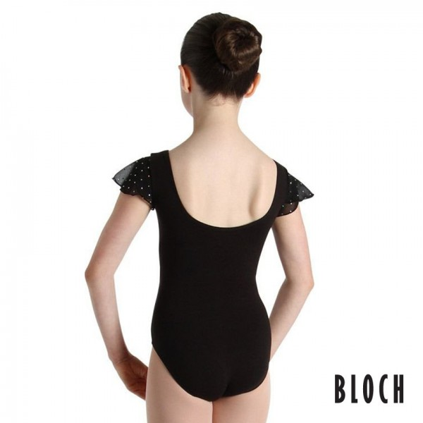 <span style='color: red;'>Out of order</span> Bloch CL3732 Scarlett, Short Sleeved Leotard