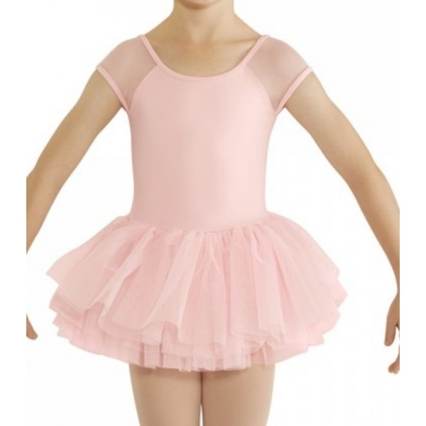 Bloch cap sleeve tutu leotard for children