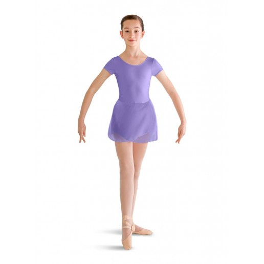Bloch short sleeve leotard with skirt