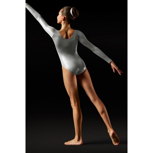 Bloch Foil, long sleeve leotard for children