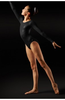 Bloch Foil, long sleeve leotard for ladies