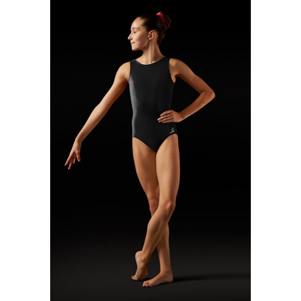 Bloch Leos Velvet, Children velvet leotard with straps