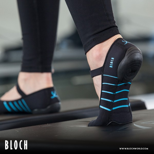Bloch Sport Shoes Contour, fitness footwear with suede sole