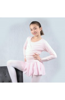 Capezio cross over child top, to warm up