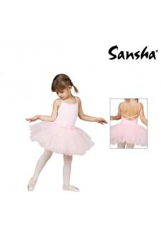 Sansha Fawn Y1705C, children's ballet dress with skirt