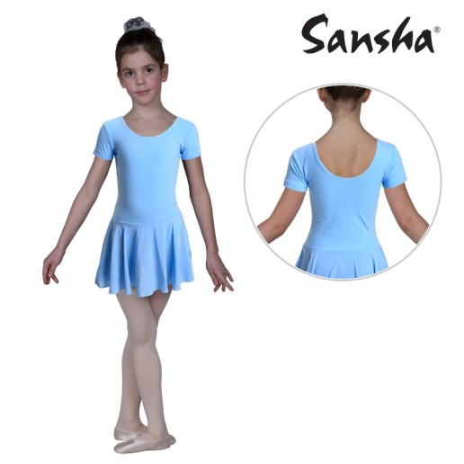 Sansha Samantha Y3554C, ballet leotard with skirt