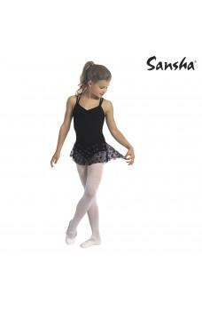Sansha Jodie Y1703C, leotard for children with skirt