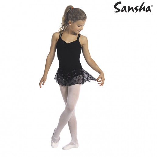 Sansha Jodie Y1703C, leotard for children with skirt
