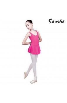 Sansha Fiona E516M, ballet leotard with skirt