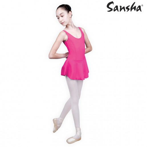 Sansha Fiona E516M, ballet leotard with skirt