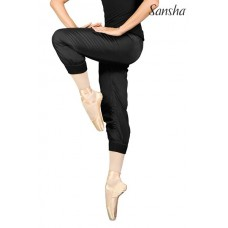 Sansha Reid, warm up polyester sweatpants