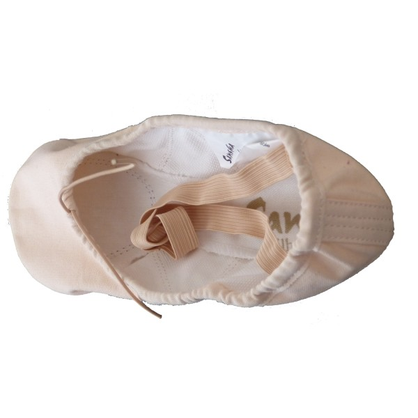 Sansha Silhouette 3C, ballet slippers for kids