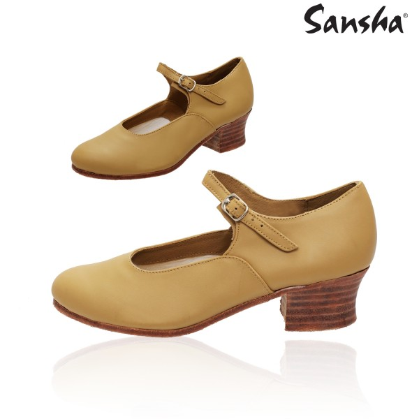 Sansha Volga CL02L, character shoes
