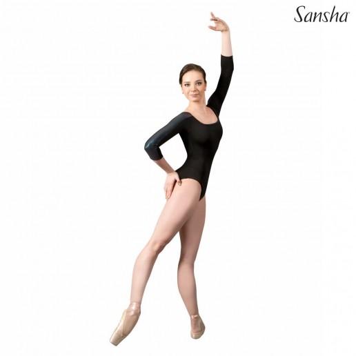 Sansha Albanne, 3/4 sleeve leotard