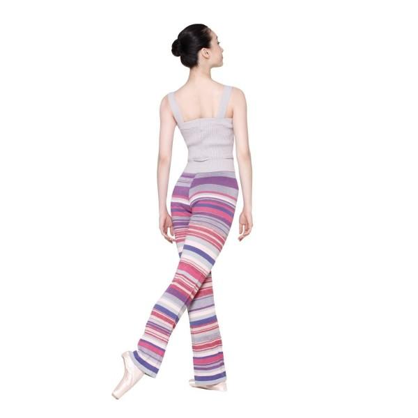Sansha Finlay, multi-coloured knit unitard