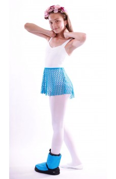 Capezio pull on jacquard ballet skirt