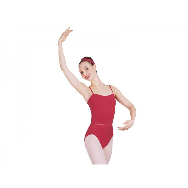 Capezio CAD100B ballet leotard with belt