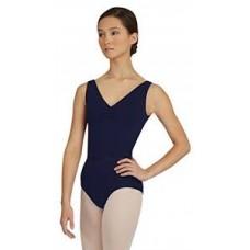 Capezio  CAD201B, ballet dance leotard with straps