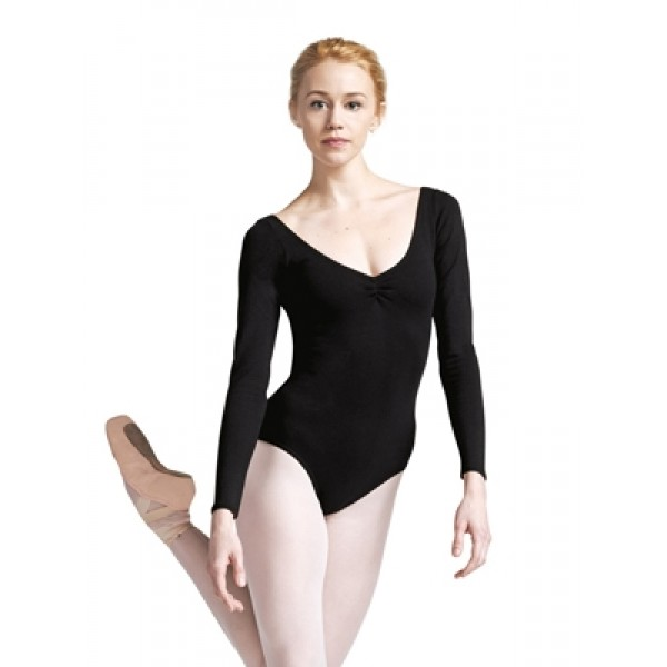 Capezio ballet long sleeved leotard