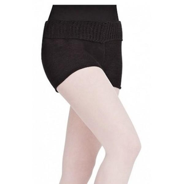 Capezio Short w/Fold Down Waist CK1003W knit shorts