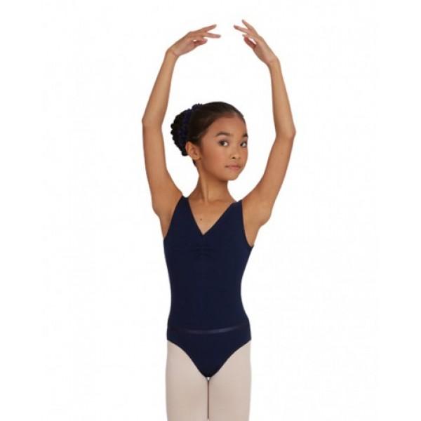 Capezio  CAD201C, ballet leotard with straps