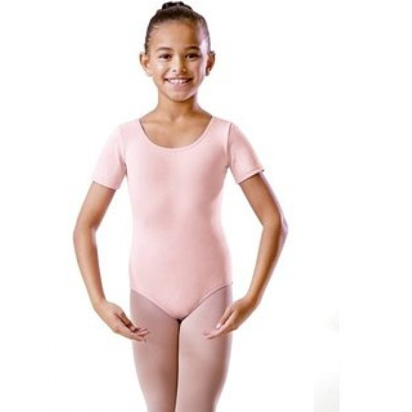 Capezio Scoop Neck Short Sleeve Leotard CAD400C for children