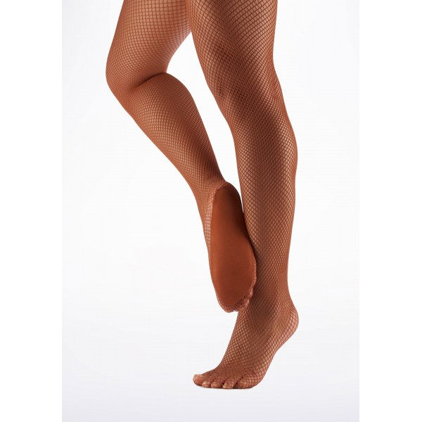 Professional fishnet seamless tights