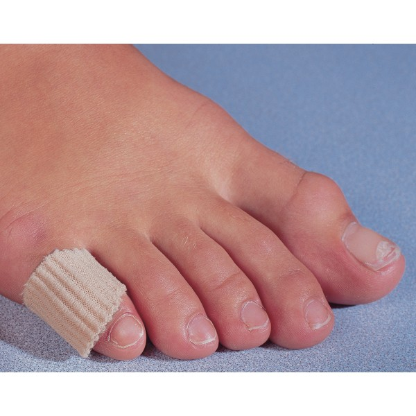 Bloch Bunion Guard, elastic fabric tube