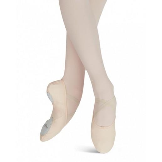 Capezio Canvas Juliet 2028B, ballet semi pointe