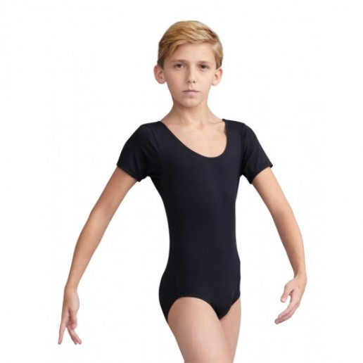 <span style='color: red;'>Out of order</span> Capezio leotard for boys