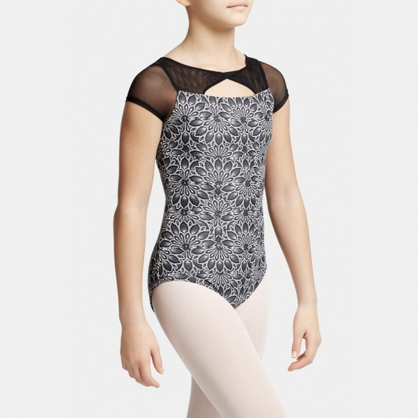 Capezio Poetry cap sleeve leotard for children