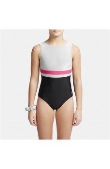 Capezio Stick the Landing boat neck, gymnastics sleeveless leotard for girls