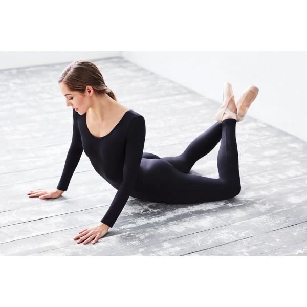 Capezio long sleeve unitard for dancers