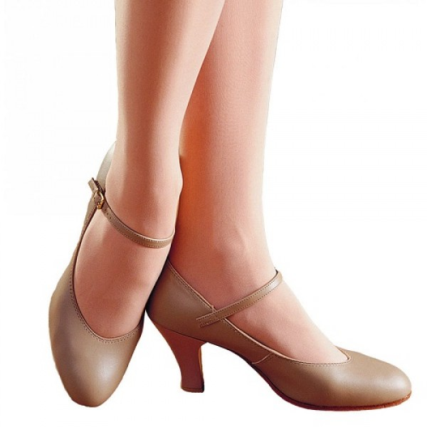 """Capezio Theatrical Footlight 3"""", character shoes"""