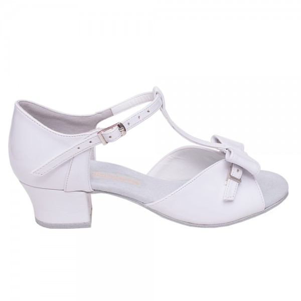 DanceMe, latin shoes for girls with a removable bow