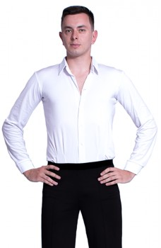 Ballroom dance shirt, body basic for men