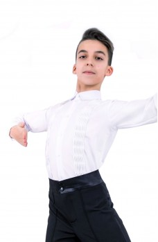 Ballroom dance shirt, body Pro for boys
