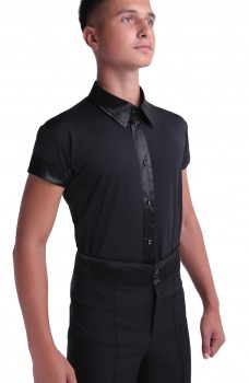 Men´s ballroom shirt latin Basic