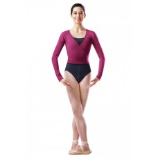 Bloch cardigan, warm-up top