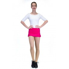 Capezio Team basic skirt, skirt with shorts