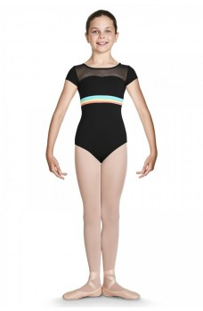 Bloch Isa CL7852, short sleeve leotard
