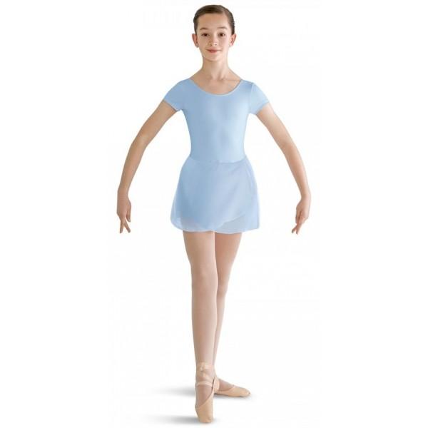 Bloch short sleeve leotard with skirt