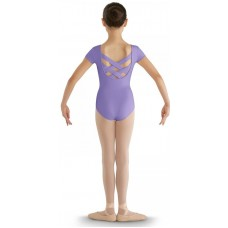 Bloch CL8832 strap back cap sleeve leotard for kids