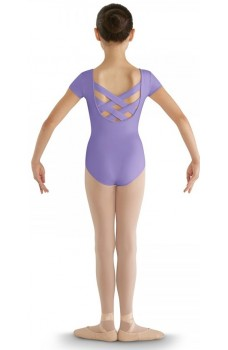 Bloch strap back cap sleeve leotard for kids
