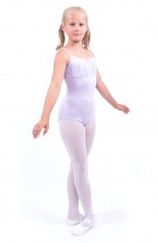 Capezio Daisy Cami Leotard, thin strap leotard with lace