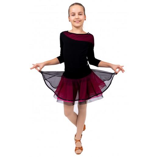 Training skirt with hem for girls