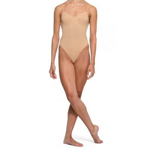 Bloch, bottom seamless bodysuit with thong